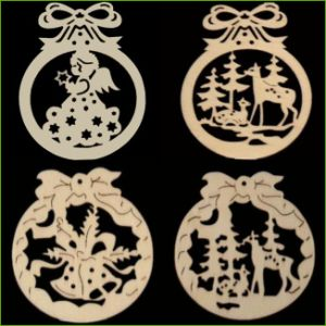 China Laser Cutting Christmas Decorations China Christmas