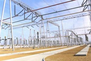 750kv Substation Structure