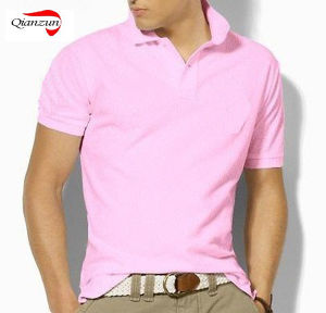 Mens Polo Pink T-Shirt pictures & photos