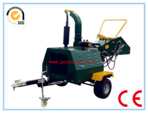 Discl Engine Wood Chipper, 40HP, Hydraulic Feeding Rollers, Ce Certificate pictures & photos