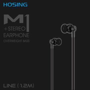 High Quality OEM Logo Cheap Sport in-Ear Stereo Wired Earphone