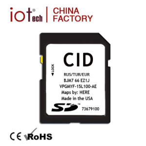 Professional Factory 8GB Custom Cid SD Card with Lock for Car GPS Navigation