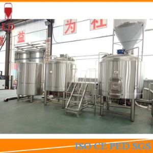 2000L 3 Vessels 4 Vessels Steam Heating Industrial Commercial Micro Craft Beer Brewing Brewery Making Machine Equipment