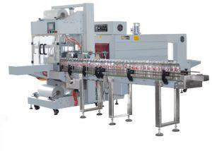 Qsj5040A Automatic Heat Shrink Packaging Machine with Shrink Tunnel pictures & photos