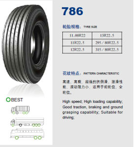 Annaite Brand New Radial Truck Tyre (786 11R22.5 295/80R22.5 315/80R22.5) pictures & photos