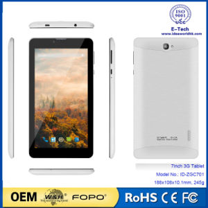Sc7731 Quad-Core 800X1280 IPS Android 3G 7 Inch Tablet