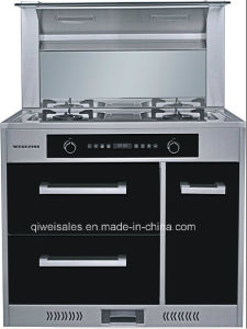 Integrated Cooker with Double Gas Stove (JJC-90F-3)