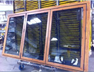 High Quality Aluminium Folding Window (CL-W1017) pictures & photos