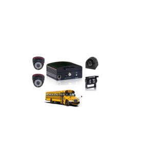 Hot Selling 4channel Mobile Petrol Remote Control Cars School Bus Mobile DVR pictures & photos