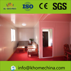 100 Squares Sandwich Panel Prefab House with Kitchen Toilet pictures & photos