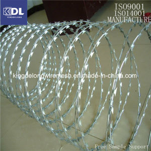 Razor Barbed Wire (Galvanized and SUS) (KDL-17)