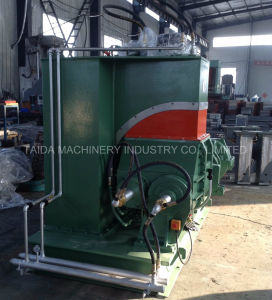 10, 20, 35, 55, 75, 110 Liters Rubber Compounding Dispersion Pressurized Banbury Kneader Mixing Machine pictures & photos