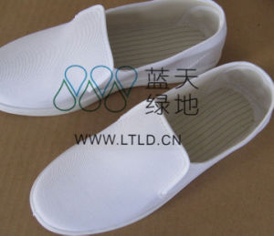 ESD Canvas Shoe (LTLD308-3) pictures & photos