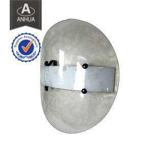 Police Transparent PC Round Anti Riot Shield pictures & photos