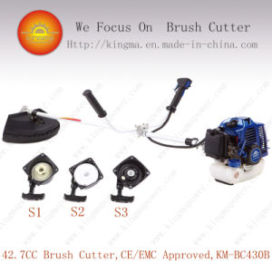 42.7cc Side-Attached Cg430 Brush Cutter with 1e40f-5