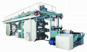 Ci Type Two Sides Flexographic Printing Machine (FM800-CI1266W) pictures & photos