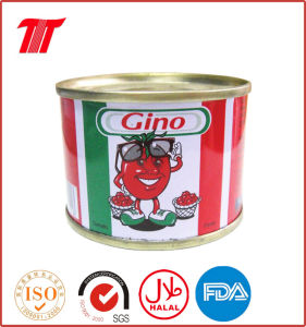 Tomato Paste Gino Brand 70g China Factory pictures & photos