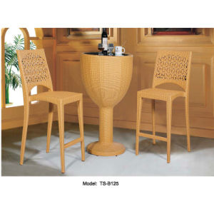 Workmanship Rattan Leisure Patio Outdoor Furniture Dining Bar Table for Garden