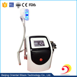 Portable 3 Handles Cryolipolysis Ultrasound Vacuum Cavi Lipo Machine pictures & photos