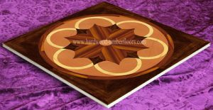 Cherry Oak Maple Veneer Art Parquet Wood Floor