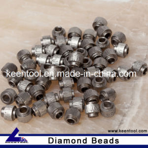 Dry Cutting Wire Beads for Travertine pictures & photos