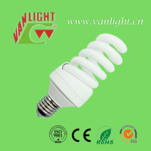 High Lumen T4 Full Spiral 23W CFL Energy Saving Bulbs