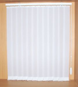 89mm Fabric Vertical Blinds Semi-Blackout with Manual Control pictures & photos