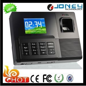 P2p RFID Fingerprint Biometric Time Attendance with U Disk Downloading pictures & photos