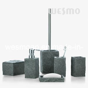Imitation Rock Bathroom Accessories (WBP0347A) pictures & photos