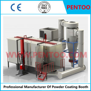 Powder Coating Booth for Aluminum Parts with Good Quality pictures & photos