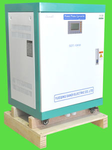 12kw Single Phase 110/120/220/230/240VAC Input to 3 Phase 380/400/415/440/480VAC Output Phase Converter/Inverter