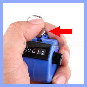 Golf Handheld Manual 4 Digit Number Hand Tally Counter Clicker (Counter-02) pictures & photos