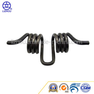Precision Touble Black Torsion Spring with Black Zinc Plated