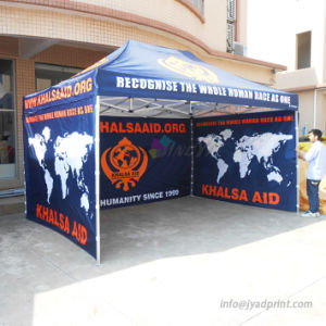 3 Walls Banner Printing With Floding Pop Up Gazebo/Canopy Tent Custom : tent printing - memphite.com