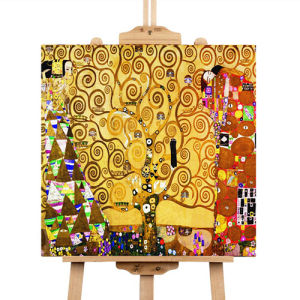 No Frame/Pure Hand-Painted Life Tree Oil Painting on Canvas Wall Decor