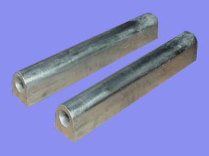 D Type Magnesium Sacrificial Anodes ASTM Standard for Anti-Corrosive