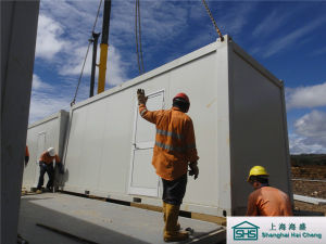 Flat Pack Container House for Labor Camp (shs-fp-camp103) pictures & photos