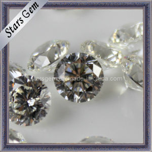 81 Facets Star Cut The Plum Blossom Round Gem CZ pictures & photos