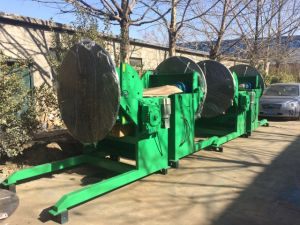 Heavy Welding Positioner /Welding Rotary Table 1200kg ) pictures & photos