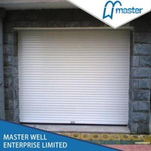 Aluminum Roller Doors, Commercial Rolling Doors, Roller up Doors, Flush Shutter Door 45mm pictures & photos