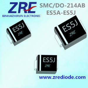 5A Es5a Thru Es5j Super Fast Recovery Rectifier Diode SMC/Do-214ab Package pictures & photos