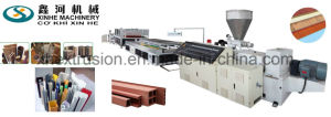 PE Door Profile Machine/PVC Plastic Panel Production Line