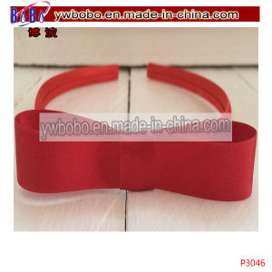 Hair Jewelry Girls Hair Band Headband Alice Band Bow (P3046) pictures & photos