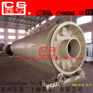 10tph Sand Rotary Dryer with ISO9001 Ce pictures & photos