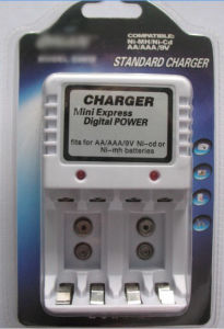 Ni-MH 4 Slot Battery Charger for Kids