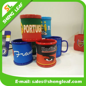 100% Soft Rubber Cup Mug Have Ready Free Sample