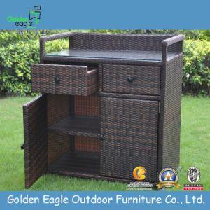 China Rattan Aluminum Made Outdoor Storage Box China Storage Cabinet Patio Garden Furniture