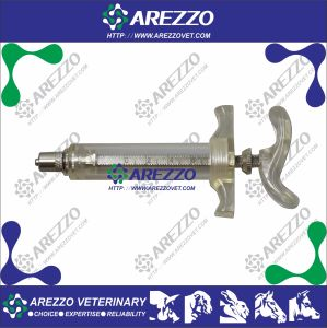 Plastic Steel Syringe with Graduation (TPX)