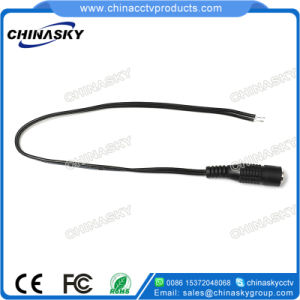 26AWG Female CCTV DC Power Connector with 30cm Cable (CT5093) pictures & photos