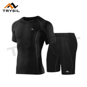 Summer Men Sport Suit T Shirt Shorts for Sport